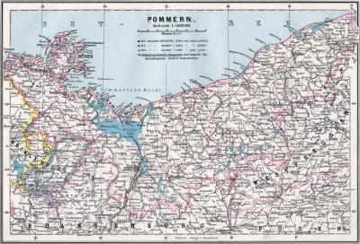Prowincja Pomorze 1905